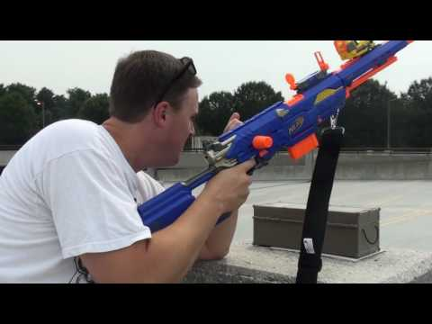 MPb Ka-POW-bq 2010: Nerf Shoot out with the Longstrike CS-6
