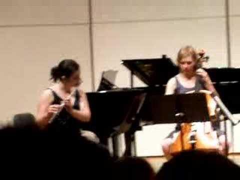 Jennifer Playing Flute II