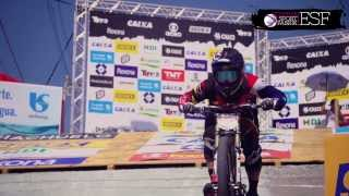 Official race movie  DESCIDA DAS ESCADAS DE SANTOS / CITY DOWNHILL WORLD TOUR  2014
