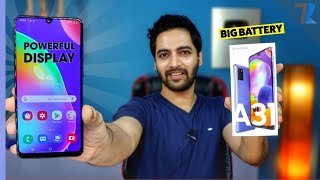 Samsung Galaxy A31 - Unboxing & First Impressions | 5000 mAh Battery | sAmoled Display | 20MP Selfie