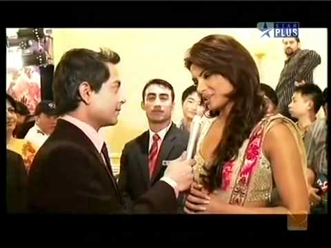 IIFA Awards 2009 -Priyanka Chopra- -Pink DAZZ Avalon Saree