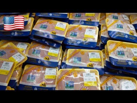 Цены на курицу в загнивающих США