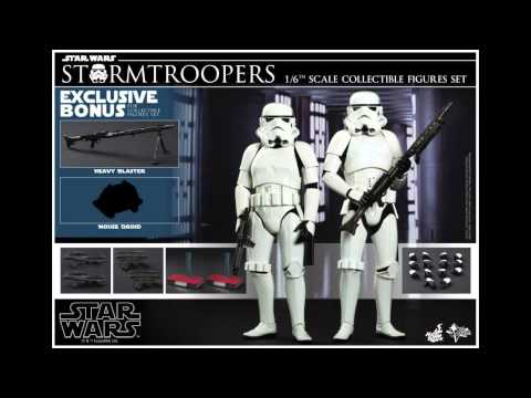 Star Wars Hot Toys Stormtrooper 1/6 Scale Movie Figure Pics & Details