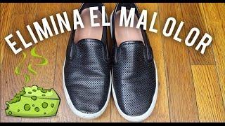 Haz esto para eliminar el mal olor de tus zapatos, zapatillas etc.