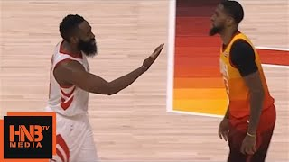 James Harden not happy with Royce O'Neale / Rockets vs Jazz Game 3