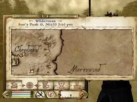 Going to Morrowind in Oblivion