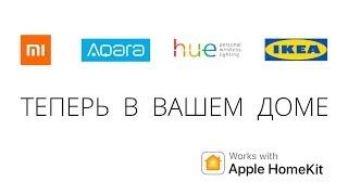 Xiaomi, Aqara, Philips hue, IKEA Trådfri, MegaFon lifecontrol - Apple HomeKit Siri умный дом ZigBee