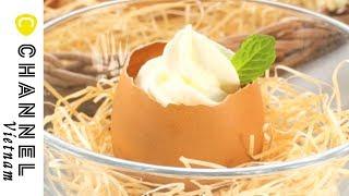 Bánh pudding  mềm mịn và dễ thương