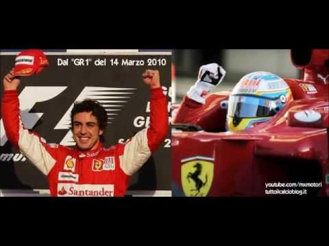 Giornale Radio Rai, la prima vittoria di Alonso in Ferrari - Gp Bahrain 2010 (con Giulio Delfino)