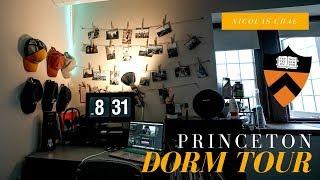 COLLEGE TECH DORM ROOM TOUR   Princeton University