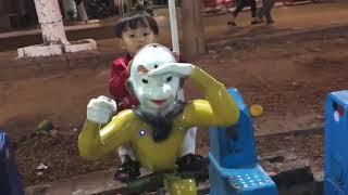 Kids Toy Media - Tin cưỡi Tôn Ngộ Không - Em chơi thú nhún