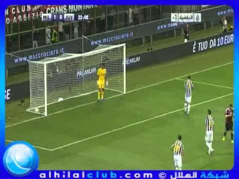 AC Milan 2 - 1 Juventus  - Berlusconi Cup 2011 21-8-2011