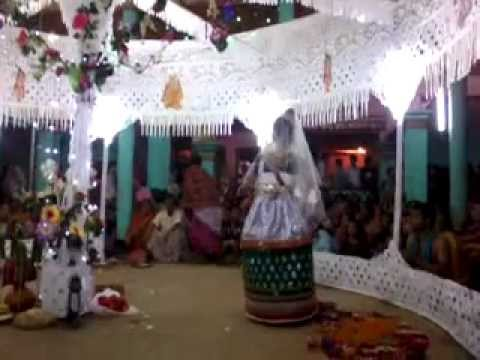 Sri Sri Krishna Ras-leela (on Dul-yatra) : Sri Brinda - At Machimpur, Sylhet, Bangladesh. video