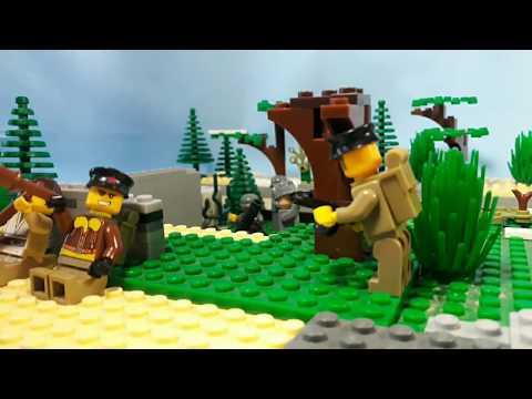 Lego WW2 Battle of Moscow. Rzhev-Vyazemsky operation.