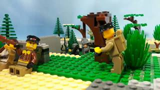 Lego WW2 Battle of Moscow. Rzhev-Vyazemsky operation.