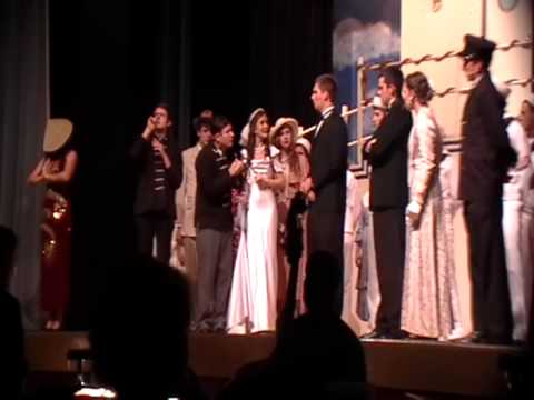 Fenwick High School  Anything Goes 2012  Wedding Scene