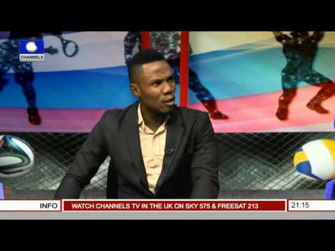 Sports Tonight: Odunayo Doing Nigeria Proud In India -- 18/12/15 Prt 2