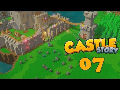 Прохождение Castle Story: #7 - ПОПЫТКИ ЗАЩИТЫ!