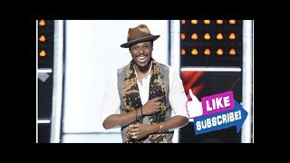 Block party! Zaxai ('Come and Get Your Love') joins Jennifer Hudson on 'The Voice' after she bloc...