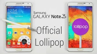 Galaxy Note 3 - Official Android 5.0 Lollipop Update - Install Instructions (N9005 Final)