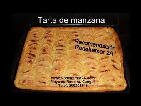 TARTA DE MANZANA(hojaldre).Desayunos caseros Hostal/Apartamentos Rodeiramar 2A Rias Baixas