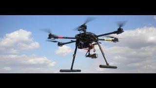 Zero UAV YS-X4 Testflug