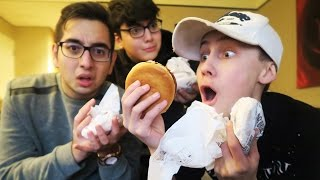 HAMBURGER CHALLENGE!