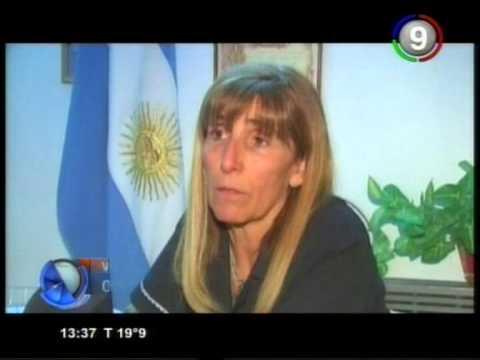 Canal 9 Bahía Blanca - Violencia de genero la obligo a tragar nafta