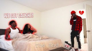 I Got CAUGHT Stealing my Cousin's Girlfriend in Bed ON CAMERA! Our Friendship is gone... PRANK