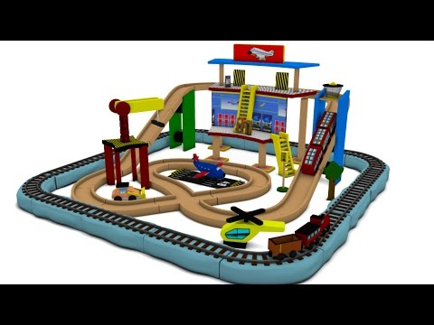 chu chu train - train cartoon for children - toy train videos for kids - Toy Train videos