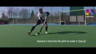 Inside Hockey Skill: Short handle squeeze shot