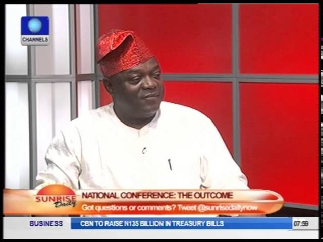 National Conference Resolutions Give More People Stake In Nigeria - Nyiam  Part3