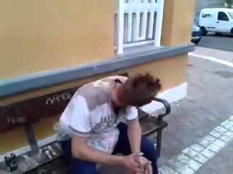 borracho cantando dale don dale