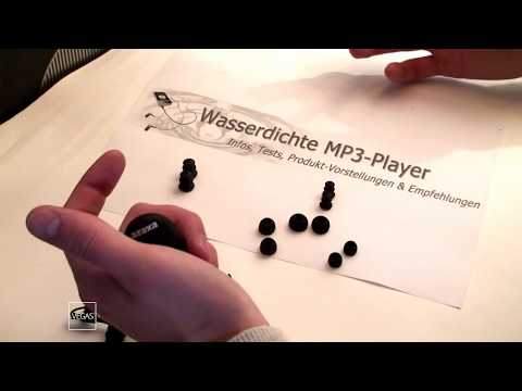 Produkttest - der wasserdichte Mp3-Player