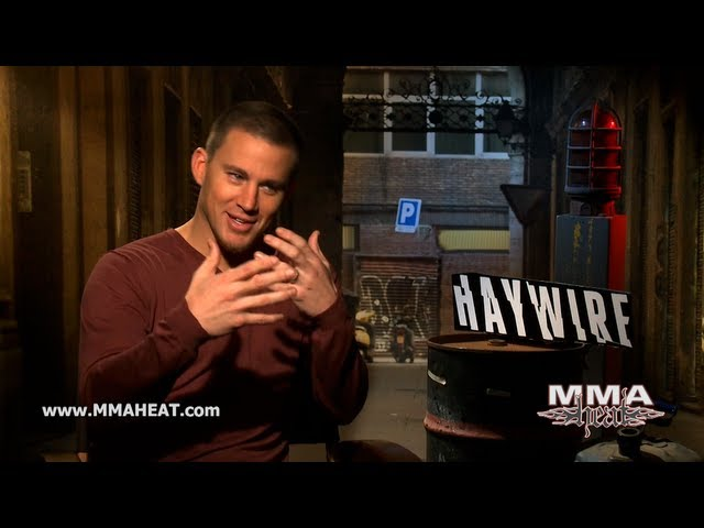 Haywire's Channing Tatum on Kissing Gina Carano, MMA + Honesty In Action Movies