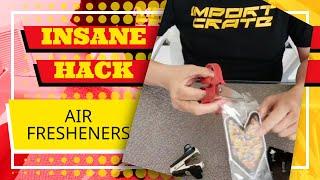 CRAZY INSANE HACK THAT WILL MAKE YOUR AIR FRESHENER LAST LONGER