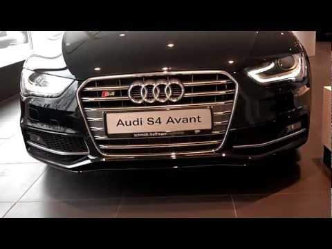 Audi, S4 Avant 2013 рестайлинг  - обзор