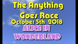 Anything Goes Race 2018  10  05  Alice in Wonderland