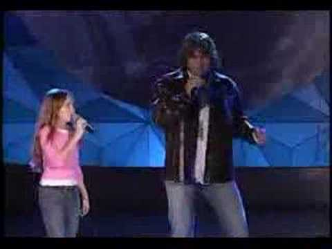 Billy Ray Cyrus and Miley Cyrus-Holding On To A Dream Music Videos