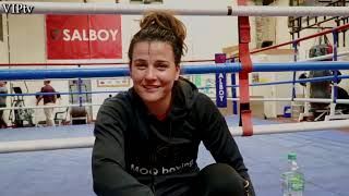 Chantelle Cameron & Jamie Moore talk about her move to the VIP gym