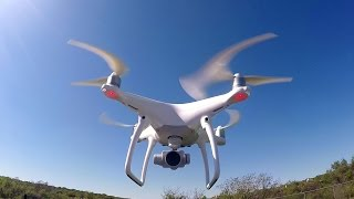 DJI Phantom 4 Unboxing, Set Up, And First Flight