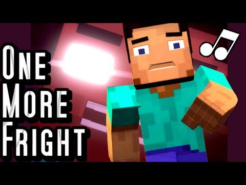 ♪ One More Fright A Minecraft Parody of Maroon 5s One More Night Music Video