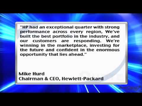 News Update: Hewlett-Packard Co. Reports a 13% Increase in Q2 Net Revenue (HPQ)