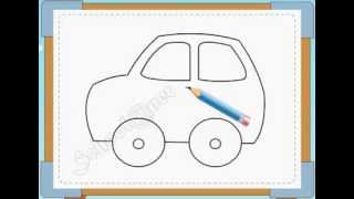 BÉ HỌA SĨ - Thực hành tập vẽ 228: Vẽ ô tô