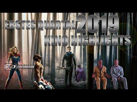 Neue Kino Highlights 2019 // Quartal 1 //im Kino Anfang 2019 //Januar bis März im Kino HD Trailer