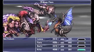 Final Fantasy V Steam - Neo Exdeath (No Rapid Fire, No Casualties)