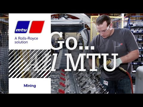 MTU Mining Solutions. Ready... Set... Mine!