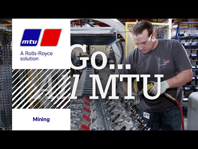 MTU Mining Solutions. Ready... Set... Mine!