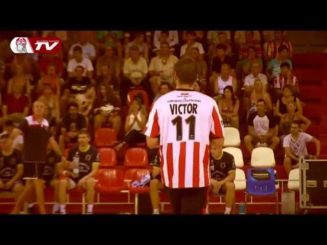 Anima a Víctor Álvarez ,jugador del Fertiberia Puerto Sagunto tras su lesión #animopichon