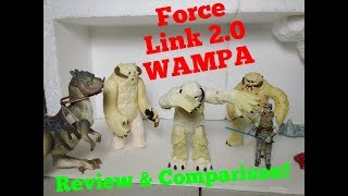 Star Wars ALL WAMPA COMPARISON Force Link 2.0 Action Figure Review